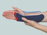 ulnar forearm splint measuring